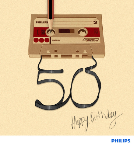 Philips Cassette Golden Anniversary